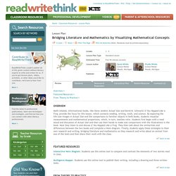Bridging Literature and Mathematics by Visualizing Mathematical Concepts