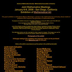 AMS-MAA'07 Math'calArt