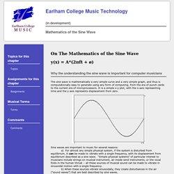 Mathematics of the Sine Wave