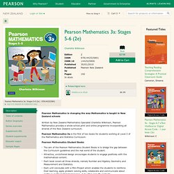 Pearson Mathematics 3a: Stages 5-6, 2, Wilkinson Charlotte