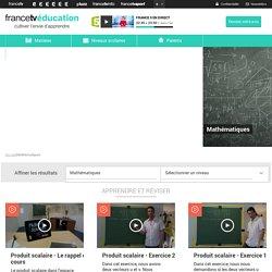 Jeux serieux en Mathématiques - France tv education