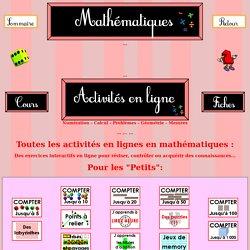 Mathématiques - Activités en lignes
