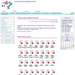 Fiches Logico Mathématiques - Circonscription Montpellier Nord