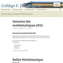 Collège F. Joliot Curie