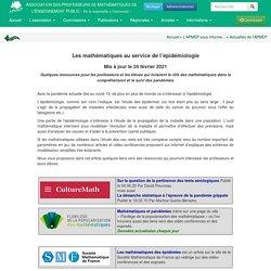 Actualités - Les mathématiques au service de l'épidémiologie