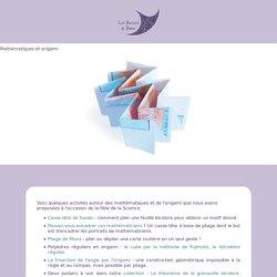 Mathématiques et Origami