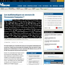 Les mathématiques au secours de l'économie française ?