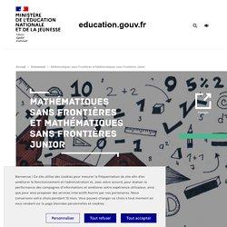 Mathématiques sans frontières et Mathématiques sans frontières Junior