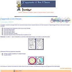 MURAILLE 4 - DES COURS PRETS A L'EMPLOI - Mathématiques > Grandeurs > J'apprends à lire l'heure