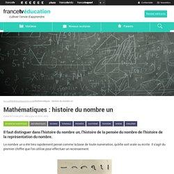 Mathématiques : histoire du nombre un