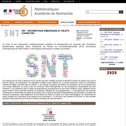 Mathématiques Académie de Normandie - SNT - Informatique embarquée et objets connectés