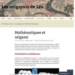 Les origamis de Léa