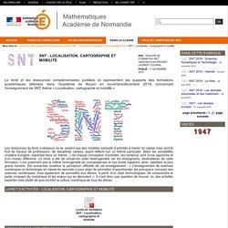 Mathématiques Académie de Normandie - SNT - Localisation, cartographie et mobilité