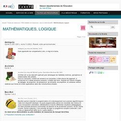 Mathématiques, logique