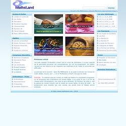 Mathématiques - mathsland.com