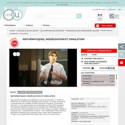 Mathématiques, modélisation et simulation - Université de tous les savoirs