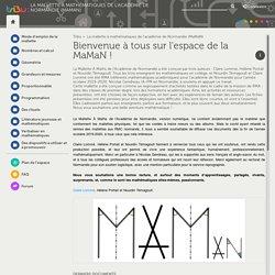 La mallette à mathématiques de l'académie de Normandie (MaMaN)