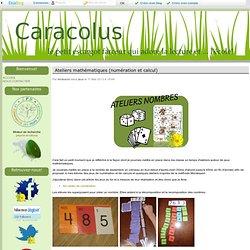 Ateliers mathématiques (numération et calcul)