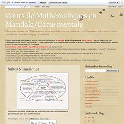Cours de Mathématiques en Mandala/Carte mentale: Suites Numériques
