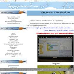 Mbot Arduino et Mathématiques - L'album des observateurs CE1 / ULIS