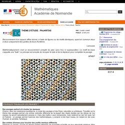 Mathématiques académie de Rouen - Thème d'étude : Pajaritas