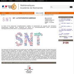 Mathématiques Académie de Normandie - SNT - La photographie numérique