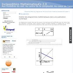 Insérer des diagrammes mathématiques dans une publication numérique