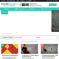 FranceTV Education - Mathématiques : apprendre, réviser, jouer
