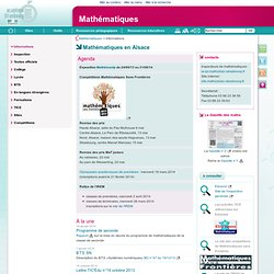 Acad Strasbourg: Maths & TICE