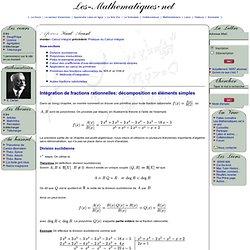Cours de mathématiques supérieures
