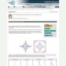 mathématiques - tableau de fil