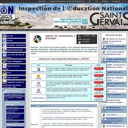 IEN St Gervais / Pays du Mont-Blanc - Logiciels de mathématiques à télécharger