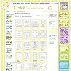 Mathematische Brettspiele - Spielotti, Spielideen für Gruppen