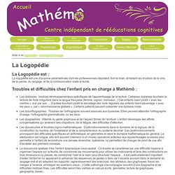 Mathémô - Logopédie