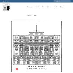 Jardine Matheson Building (1922) (House of Roosevelt), N°27, Le Bund, Shanghai - Nos voyages depuis Shanghai vers la Chine et toute l'Asie, Blog, Site perso