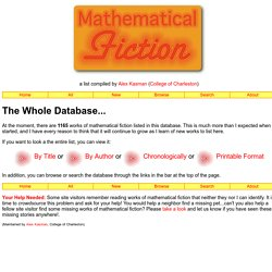 MathFiction