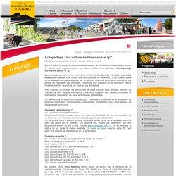 Mairie de Saint Mathieu de Tréviers - Autopartage : ma voiture en libre-service 7j/7
