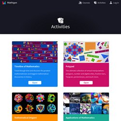 Activities – Mathigon