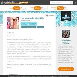 Les vœux de Mathilde - Marièke Poulat