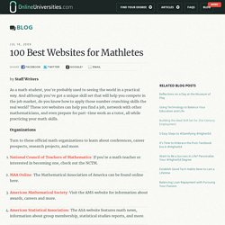 100 Best Websites for Mathletes - OnlineUniversities.com