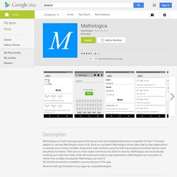 Mathologica - Android Apps on Google Play