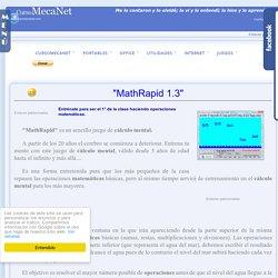 MathRapid - Juego de Cálculo mental