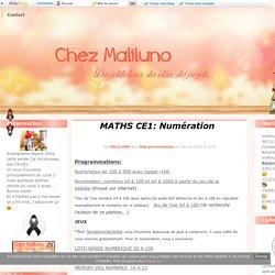 MATHS CE1: Numération