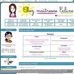 Maths 6e Harmos (CM1) - Chez maîtresse Ecline