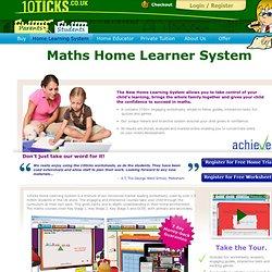 Maths Help for KS1, KS2, KS3 and GCSE.