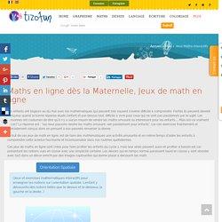 Maths en ligne à partir de la Maternelle