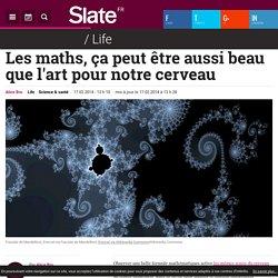 Les maths, ça peut être aussi beau que l'art pour notre cerveau