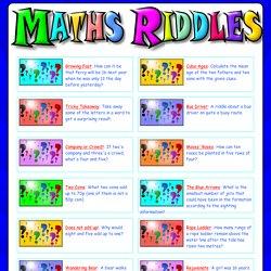 Maths Riddles