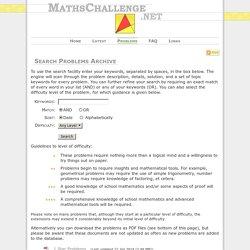 mathschallenge.net