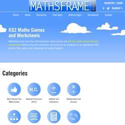 Mathsframe Interactive Whiteboard Teacher Resources